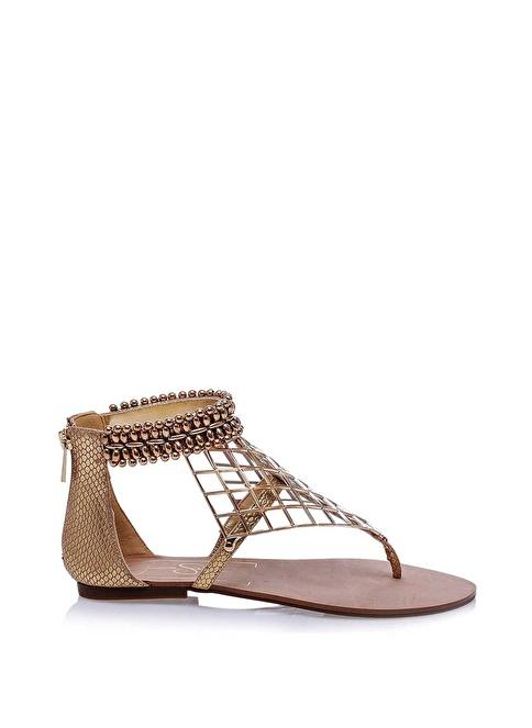 Jessica Simpson Sandalet Altın